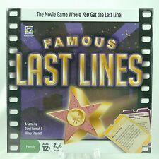 Discovery Bay FAMOUS LAST LINES Board Game NEW SEALED
