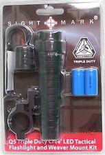 Sightmark Q5 Tactical Flashlight 280Lumens Weapon Mount