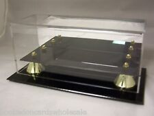 1 BCW Mini Football Holder Deluxe Acrylic Display Case With Mirror