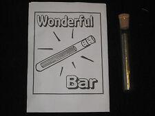 Wonderful Bar Magic Trick - Great Close-Up Magic, Illusion, Floating Silver Bar