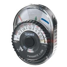 Sekonic L-208 Twinmate Light Meter L 208 Twin Mate ~ Brand NEW CE Europe Version