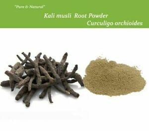 BLACK MUSLI, Curculigo Orchioides Indian Herbs Powder / Whole | Piles,Joint Pain