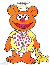"6"" MUPPET BABIES  FOZZY FOZZIE  BEAR  CHARACTER WALL SAFE STICKER BORDER CUT"