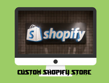 Custom Shopify Dropshipping Store/Website - Ready in 1-2 Days