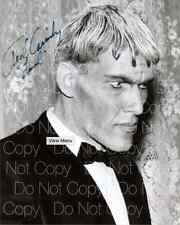Addams Family signed 2 Ted Cassidy Lurch 8X10 photo picture poster autograph RP