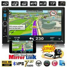"""New listing 7""""Double 2Din Car Mp3 Mp5 Radio Player Navi Touch Bluetooth Aux+Camera"""