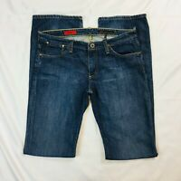 Adriano Goldschmied Womens The Kiss Jeans Size 29 Blue Low Rise Straight Leg