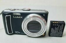 Panasonic LUMIX DMC-TZ4 8.1MP Digital Camera - Black *GOOD/TESTED* Free Ship!