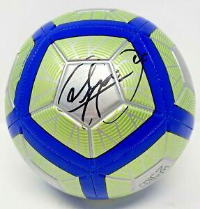 Brazil PSG Neymar Jr. Signed Nike Neymar Soccer Ball Beckett BAS COA