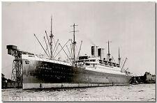 Dampfer ALBERT BALLIN (Hamburg-Amerika-Linie), Foto-AK ungebraucht um 1930
