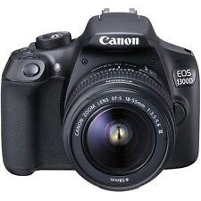 Canon EOS 1300D Kit EF-S 18-55 IS II F3.5-5.6 Lens - Black