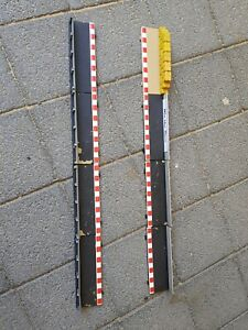 Scalextric barriers 8 X Straights