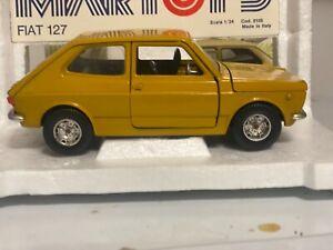 Bburago Martoys Fiat 127 mint box 1/24