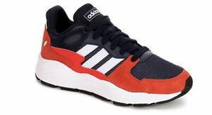 New Boys Adidas Chaos J Sneaker -Navy, White, Red- EF5309