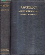 1923 PSYCHOLOGY FIRST OWNED BY LOIS RANDLE GLOVER RICHARDSON EVINSTON FLORIDA