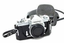 Nikon Nikkormat FT Kameragehäuse in Chrome + Tasche
