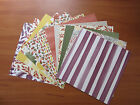 """Stampin' Up! Colour me Autumn DSP 6""""x6"""""""