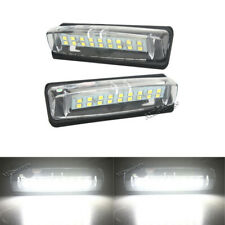 2X LED Number License Plate Lights For Toyota Camry Aurion Prius Avensis Verso