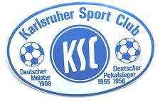 Karlsruher SC KSC Aufkleber Sticker - Logo Bundesliga Fussball #1323