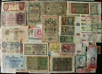 Lot 100 PCS Different World Banknotes Germany Russia USSR Old Paper Money