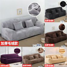 Sofa Covers 1 2 3 4 Seater Thick Plush Slipcover Stretch Couch Cover Protector