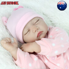 22'' Lifelike Reborn Baby Girl Doll Handmade Newborn Dolls + Clothes Xmas Gifts