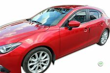 DMA23164 Mazda 3 Hatchback/Saloon 2013-up viento desviadores 4pc Heko Teñido