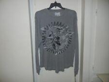 Retrofit Brand Clothing Mens Indian Eagle Thermal Grey T Shirt Mens size XL