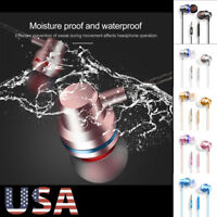3.5mm In-Ear Headphones Earphones Earbuds with MIC and Volume Control For iPhone