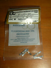 (5) ATC RF .5pF Capacitors Tol B 100B0R5BMS