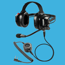 Race Driver Racing Pit Crew Concert Security Headset for Kenwood TH-D74A NX-240