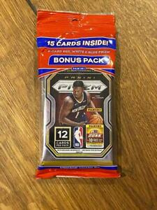 1 x 2020-21 Panini PRIZM NBA Basketball Cello FAT PACK 15 Cards Factory Sealed