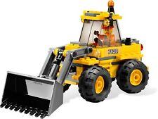 Lego 7630 City Construction Front-End Loader - 1 Minifig - Complete Set