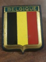 Vintage collectable Belgique car badge - used items