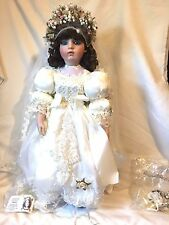 Marcella Doll by Patricia Loveless Reproduction Bru Jeune Doll Box & COA