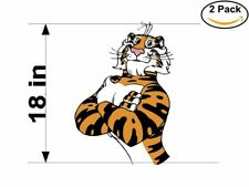 Exxon Tiger 2 Stickers 18 inches Sticker Decal