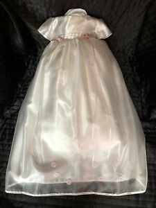 traditional baby christening gown