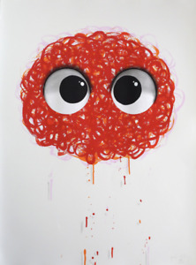Javier Calleja, Redhead Hand finished Print