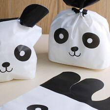 50Pcs Package Bags Panda Pattern Cookies Candies Packaging Gift Bag Waterproof
