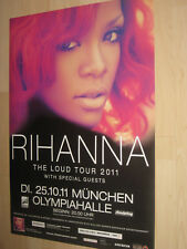 Rihanna Tourplakat/Tourposter 2011 -  München