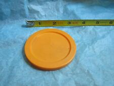 Fisher Price Fun with Food Alphabet Soup Can Lid Orange Replacement Part Top