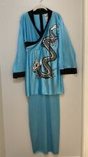 Dragon Lady Geisha Girl Costume Cosplay Halloween Fantasy Fancy Dress **READ