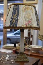 Antica Lampada da tavolo  VINTAGE  in ALABASTRO  H 58 cm