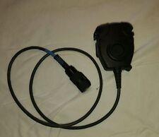 Peltor Radio Single Comm PTT Adaptor Push to Talk FL5601-02 Black Nexus TP-120