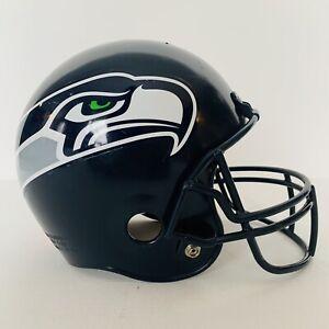 Vintage Retro NFL Franklin Seattle Seahawks Kids football helmet Man Cave Navy