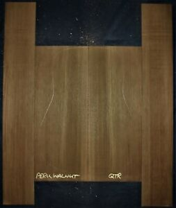 Guitar Luthier Tonewood PERUVIAN WALNUT Acoustic backs sides SET