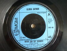 Gloria Gaynor - Never Can Say goodbye / We Just Can't Make It - Soul Funk Disco
