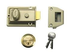 Yale Locks P-77 Traditional Nightlatch ENB/PB Cylinder 60 mm