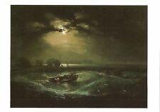 Postcard J.M.W. Turner Fishermen at Sea Tate Gallery London MINT
