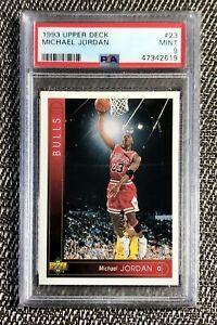 1993 Upper Deck Basketball Michael Jordan #23 PSA 9 MINT